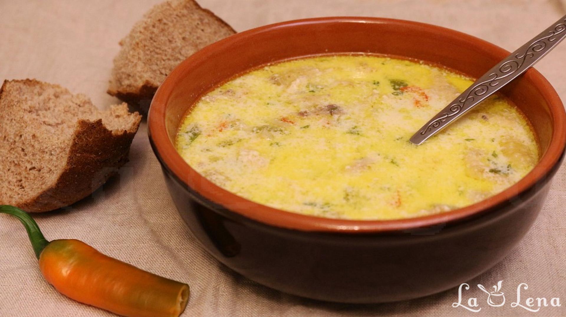 Supe si Ciorbe low-carb sau keto - cu POZE pe PASI - Retete culinare