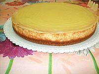 Cheesecake with lemon curd - Pas 4