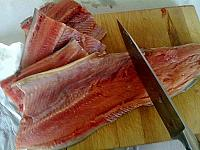 Somon marinat la gratar/tigaie - Pas 12
