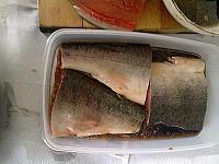 Somon marinat la gratar/tigaie - Pas 14