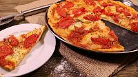 Aluat de pizza rapid, fara drojdie - Reteta VIDEO - Pas 14
