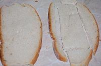 Kanape-uri rusesti cu hering marinat - Pas 1