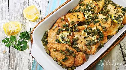 Chicken Piccata - Reteta VIDEO