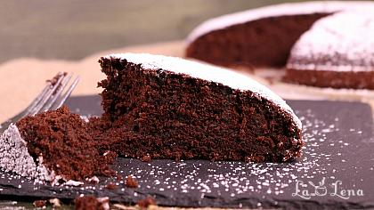 Prajitura cu ciocolata in 10 minute(de post!) - Reteta VIDEO