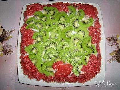 Tort-Salata de fructe