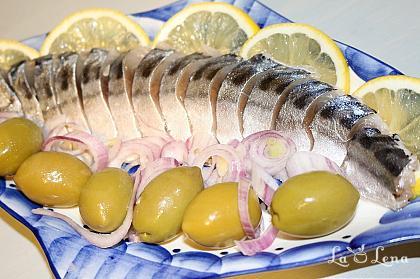 Macrou marinat (Seleodka)