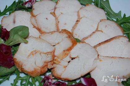 Pastrama din piept de pui