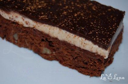 """Prajitura """"Brownies Cappucino"""""""