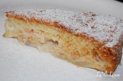 Prajitura (Sarlota) de mere fara oua