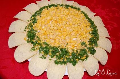"""Salata """"Floarea Soarelui"""""""