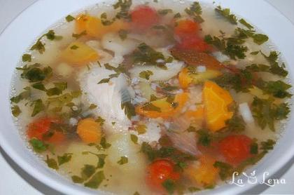 Supa cu hrisca si legume