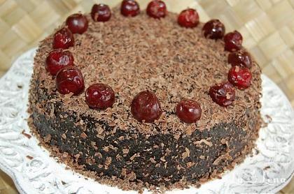 Tort cu zmeura si ciocolata (reteta raw-vegan)