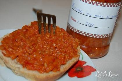 Zacusca de vinete cu mere si miere