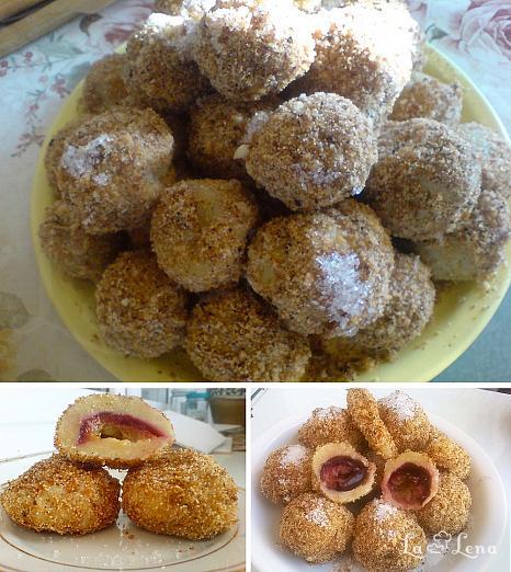Galuste cu prune (fara cartofi)