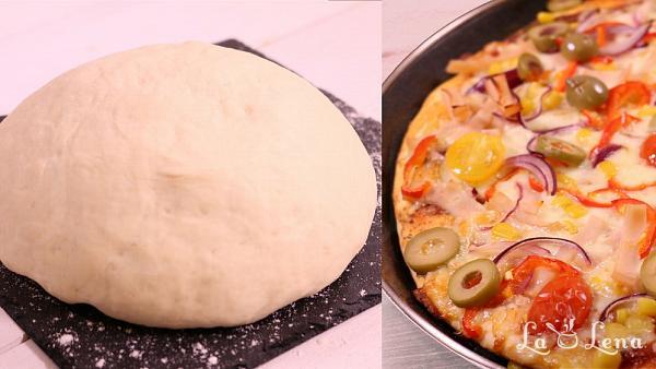 Aluat de pizza clasic