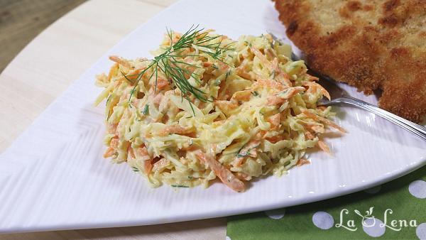 Salata Coleslaw cu iaurt