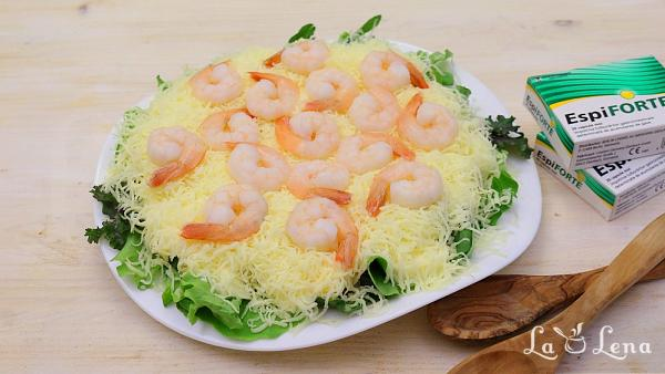 Salata cu creveti si ananas