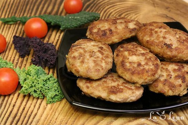 Chiftele din carne, fara paine sau pesmet - reteta low-carb