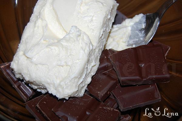 Crema de ciocolata cu smantana de gatit