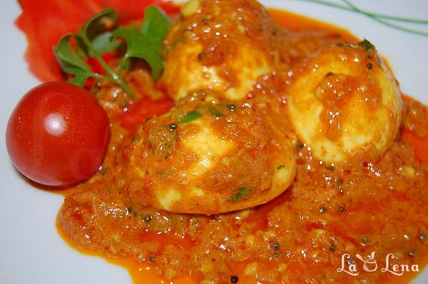 Curry de oua (Egg Curry)