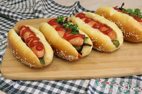 Hotdog de casa