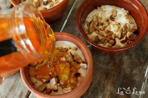 Iaurt cu miere si nuci beneficii