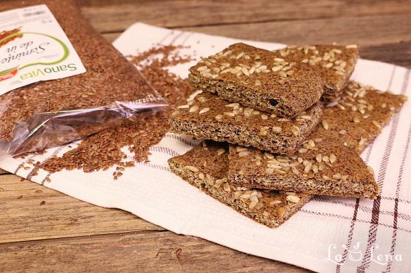 Paine de in - fara carbohidrati si fara gluten