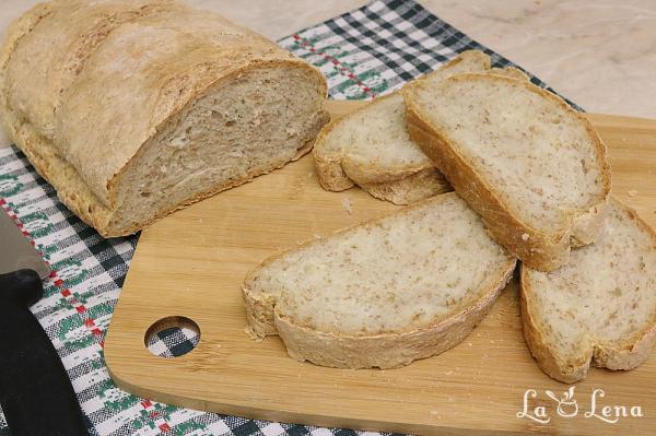 Pâine din 4 ingrediente, pentru începatori