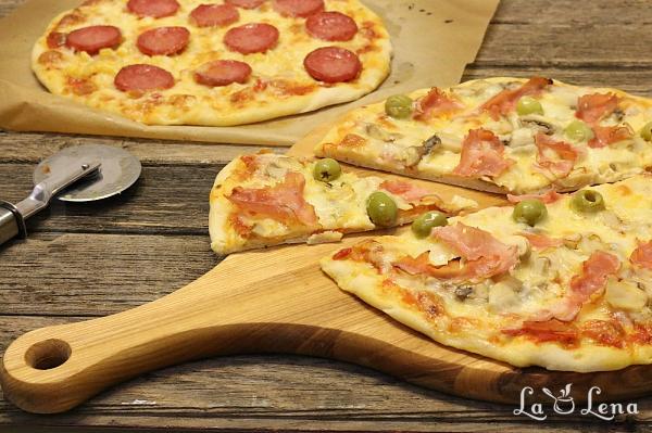Pizza lui Gennaro, sau Pizza in stil italian