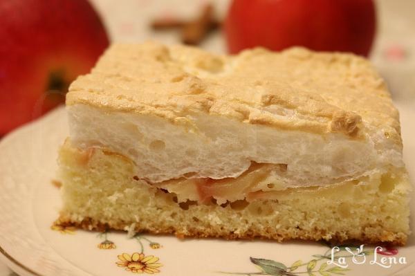 Prajitura cu mere si bezea (reteta rapida)