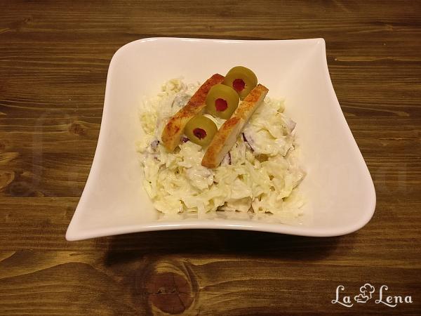 Salata de varza cu maioneza de iaurt