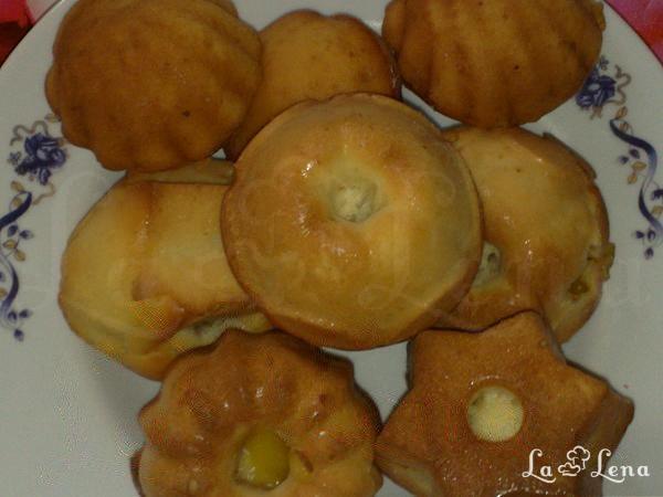 Briose cu jeleu de portocala sau orange-muffins