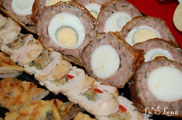 Meatballs cu oua