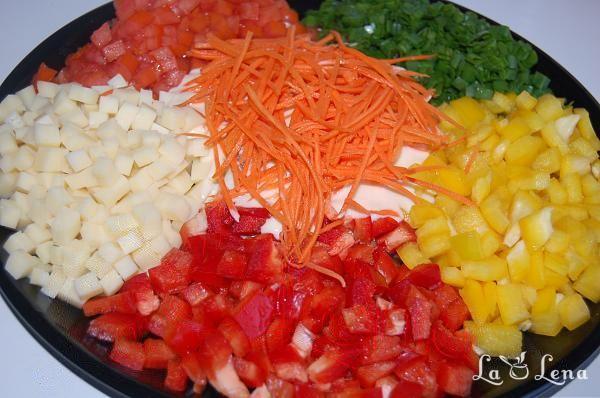 "Salata ""Caleidoscop"""