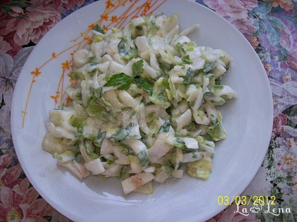 Salata de andive cu patrunjel si maioneza