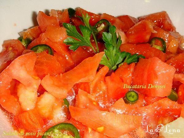 Salata de rosii..picanta
