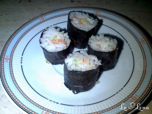 Sushi in stil Tupperware