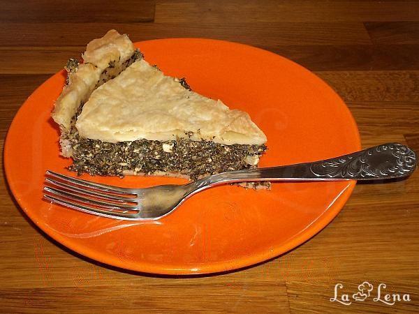 Tarta picanta cu spanac si branza (bucataria araba)